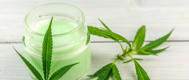 Les cosmetiques au cannabis